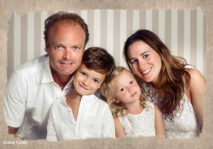 Anne Ander y su familia se hacen un entrañable book juntos en Granada