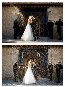 Fotografía de Boda en Granada de Marta y Victor. Ermita de los tres Juanes. Atarfe