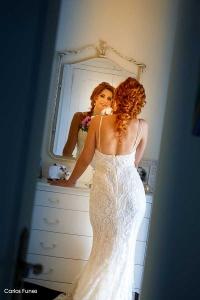 Isabel se prepara la el momento de su boda
