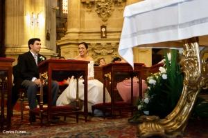 Ceremonia de boda. Carlos Funes