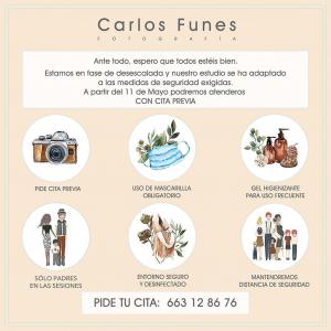 Carlos Funes reapertura Covid-19