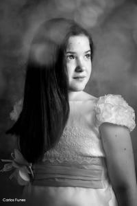 Foto album de primera comunión de Marina. Fotógrafo en granada especialista en primeras comuniones