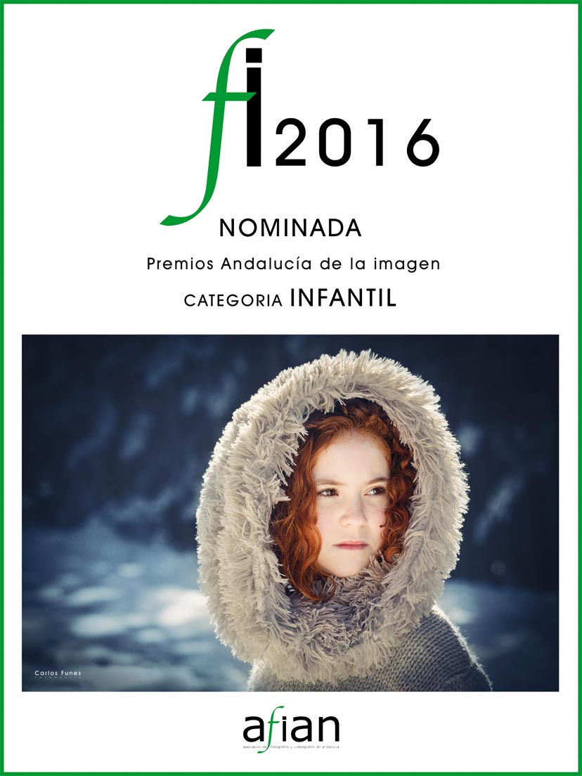 carlos funes fotografia nominada premios andalucia. Fotografo especializado en fotografía infantil Granada