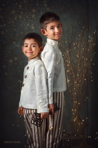 Temporada 2019 Postal navideña vintage. ©2019 Carlos Funes