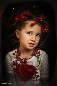 Campaña de mini sesiones de navidad fotográficas. Estudio Carlos Funes Granada. ©2017